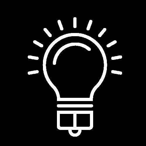 Icon Glühbirne für Strom